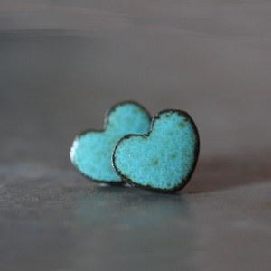 boucles d'oreilles en formes de coeur marque So' and So